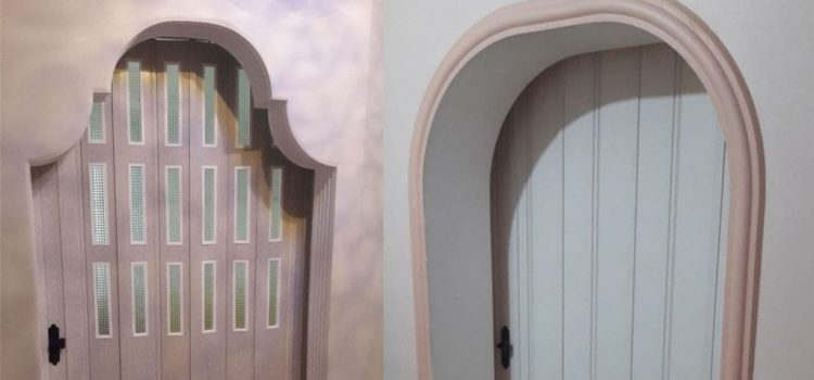 Kemerli Akordiyon Kapı