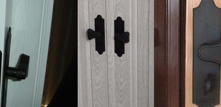 Akordiyon Kapı Kilidi