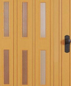 Akordiyon kapı camı